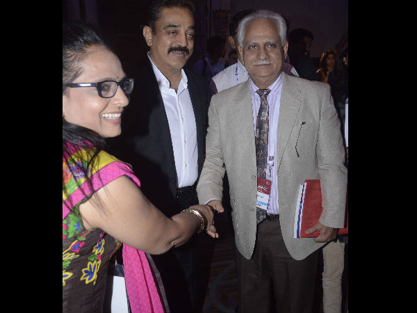 Kamal Haasan With Ramesh Sippy