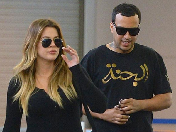 Khloe Kardashian & French Montana Party In Miami