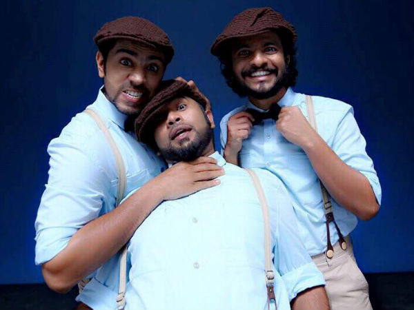 Aju Varghese And Neeraj Madhav
