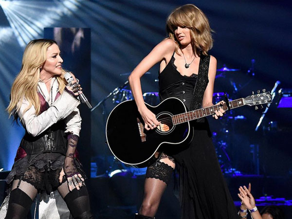 Taylor Swift and Madonna Perform Together