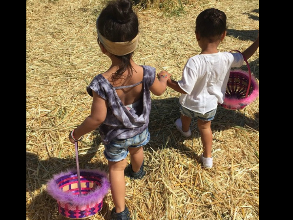 North West Is Getting Ready For Easter, Goes For Egg Hunt With Mom, Kim