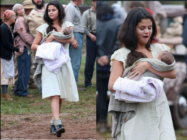 Selena Gomez Turns Mother of James Franco's Baby In 'In ...