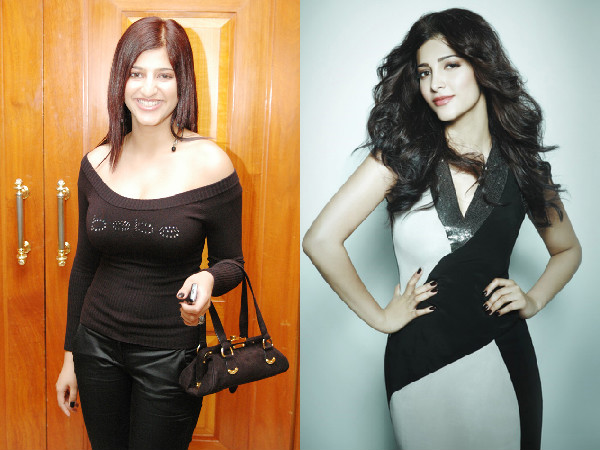 Shruti Hassan Before And After