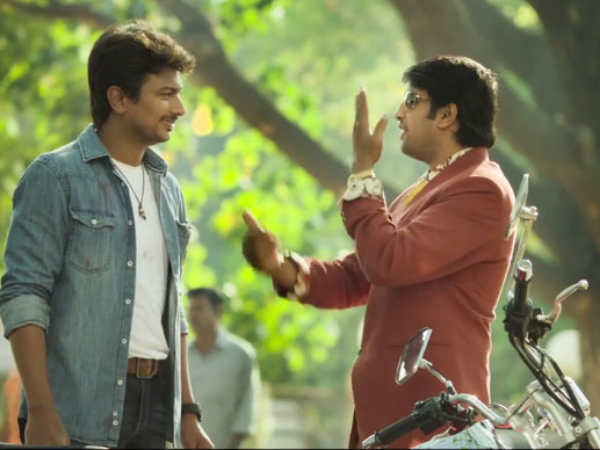 The Combination Of Udhayanidhi And Santhanam
