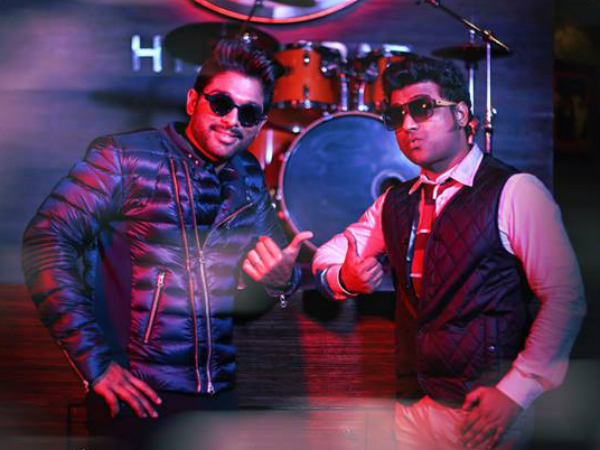 Styling Of Allu Arjun And Devi Sri Prasad
