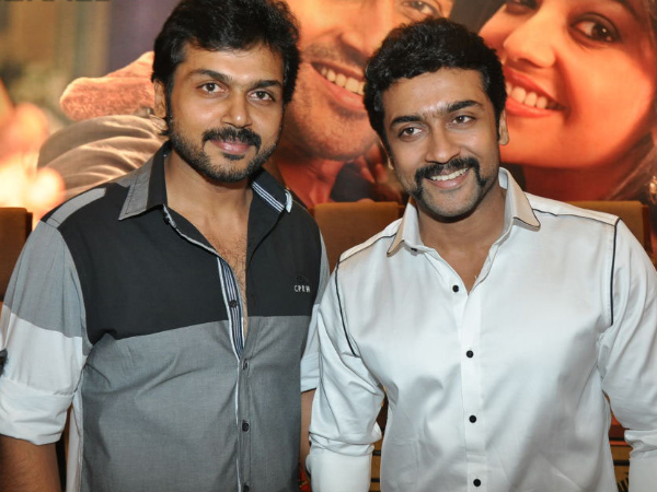 Karthi To Act Along With Suriya?
