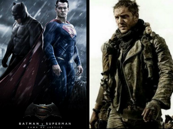 'Batman v Superman' Trailer To Release With 'Mad Max: Fury Road'