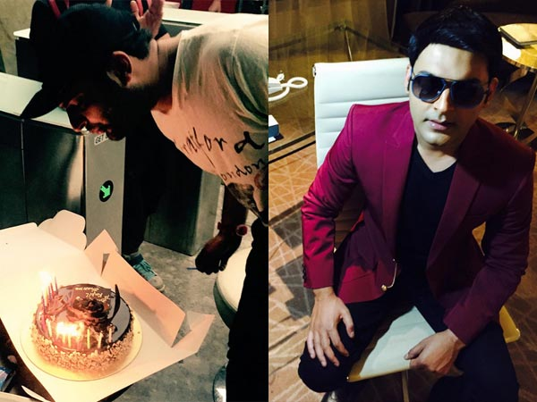 What Did Kapil Sharma Do On His Birthday?