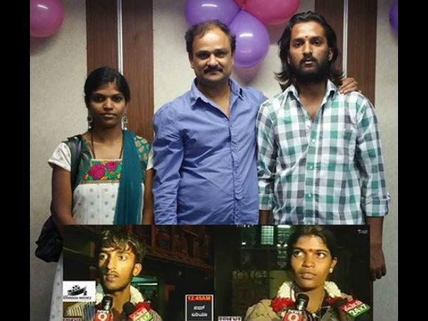 Director Shashank Poses With Real Life 'Krishna Leela' Couple