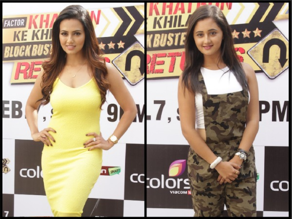 Khatron Ke Khiladi 6 Elimination: Sana Khan & Rashmi Desai Evicted Week Before Grand Finale!