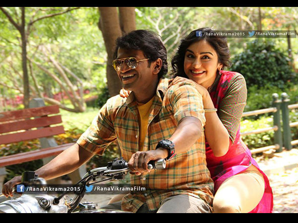 Puneeth And Adah Sharma