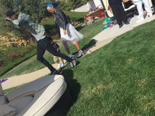 Easter Brings Amber Rose & Wiz Khalifa Closer