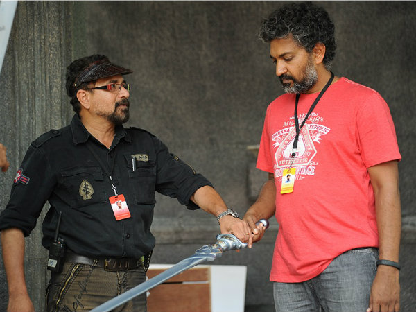 Rajamouli With Sabu Cyril