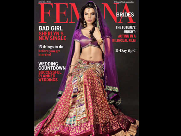 Sherlyn Chopra For Femina