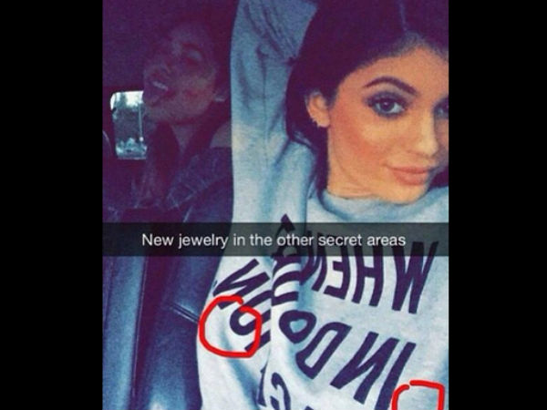 Kylie Jenner Gets Piercing In 'Secret Areas', Shares Pic On Snapchat
