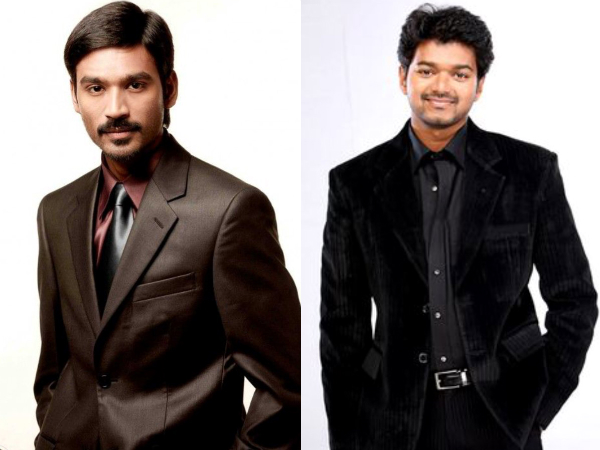 Dhanush Calls Vijay A Superstar, Attracts Wrath Of Many Fans!