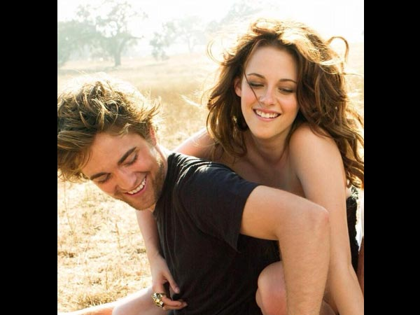 Robrt Pattinson and Kristen Stewart