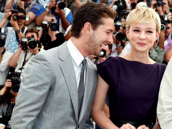 Shia LaBeouf and Carey Mulligan