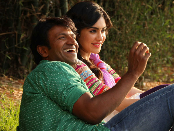 Puneeth Rajkumar And Adah Sharma As Couple