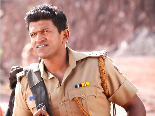 Puneeth As Police Officer