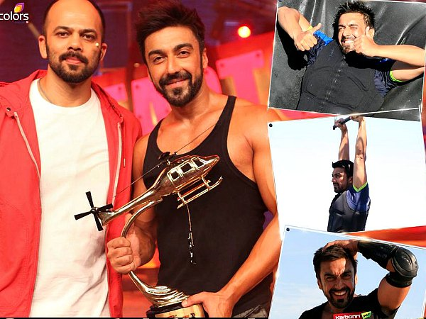 The Man Without Fear, Ashish Chaudhary Wins Khatron Ke Khiladi 6!