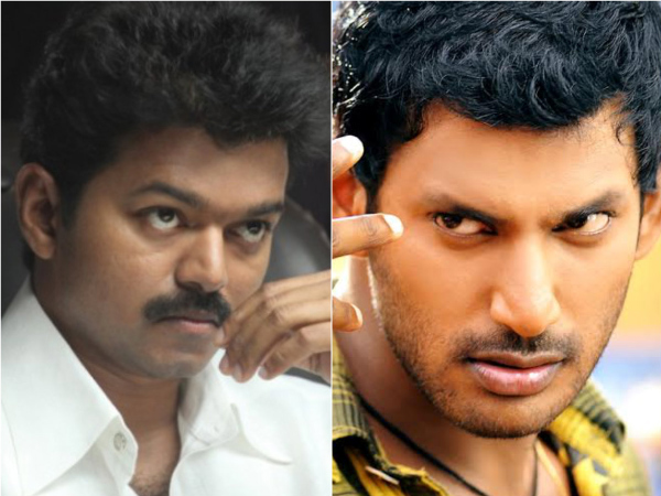 OMG! Are Vishal And Ilayathalapathy Vijay Off-Screen Enemies?