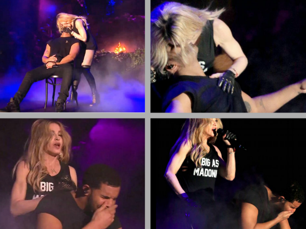 Why Drake Did Not Like Madonna's Kiss At Coachella?