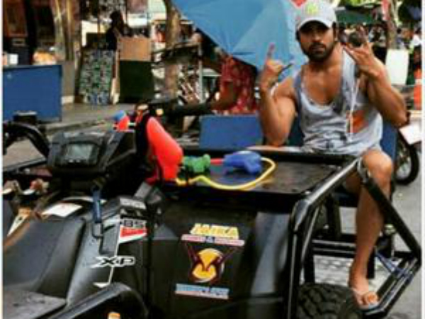 Ram Charan On The Streets Of Bangkok