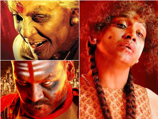 Raghava Lawrence In Kanchana 2   Raghava Lawrence Get Ups