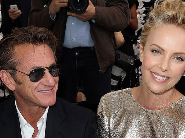Sean Penn's Fiancée Charlize Theron Finds Herself 'Very Lucky'