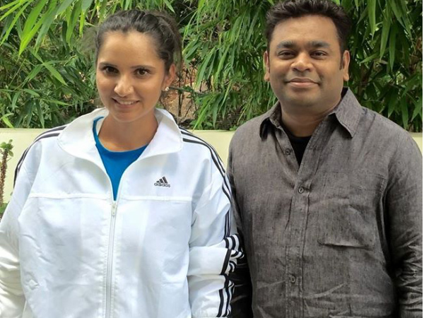 AR Rahman Meets Sania Mirza To Congratulate Her, Speaks About Women Athletes!