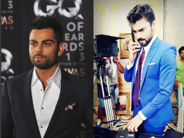 Gaurav Chopra Tries Virat Kohli's Hairstyle For Gulmohar Grand!