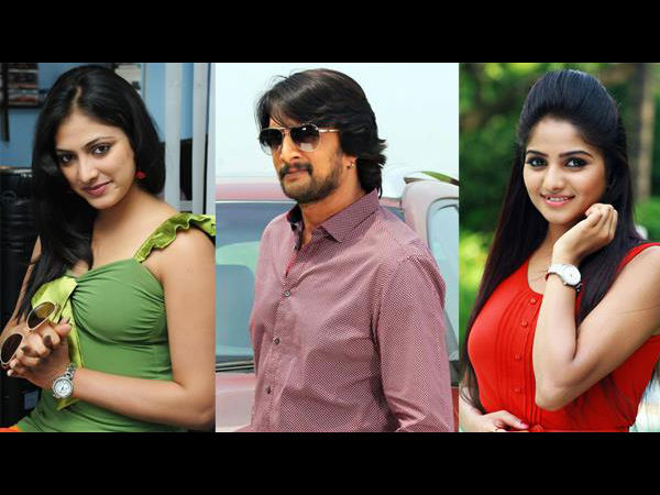 Sudeep, Rachita Ram And Haripriya