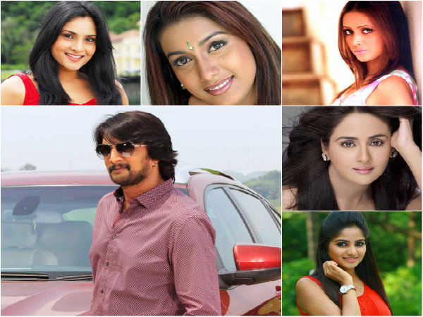 Sudeep To Shake A Leg With His Co-Stars