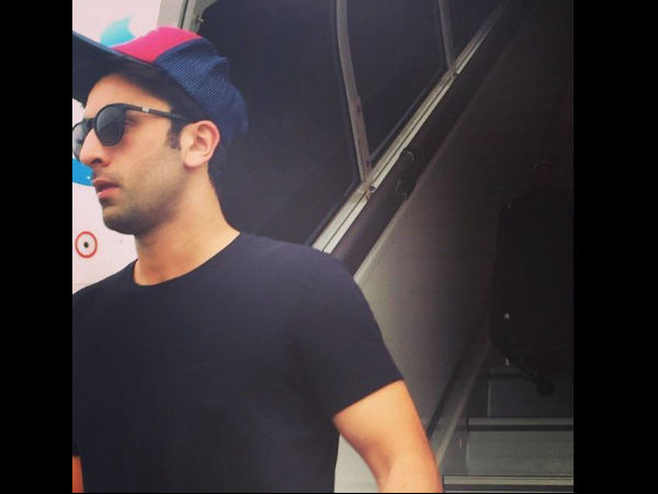 Ranbir On A Holiday