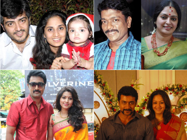 tamil heroes who married their heroines kollywood actors who