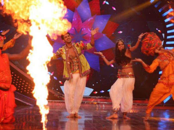 Preity On Shakti-Neha Performance