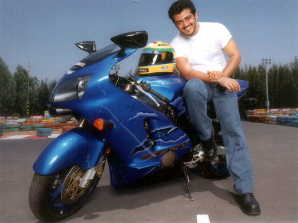 Ajith's First Superbike