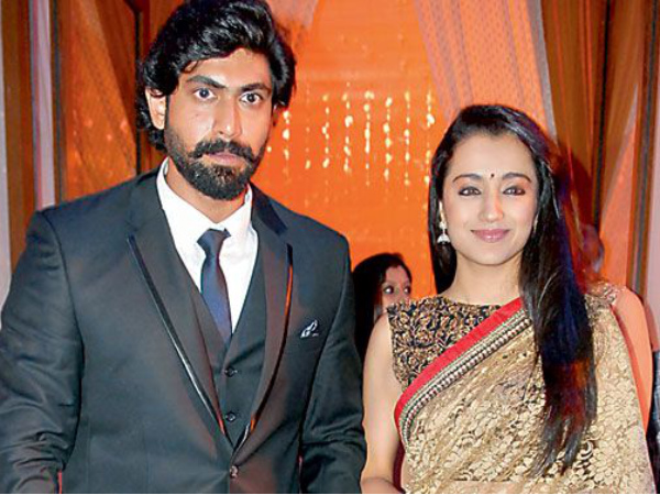 Trisha And Rana Daggubati