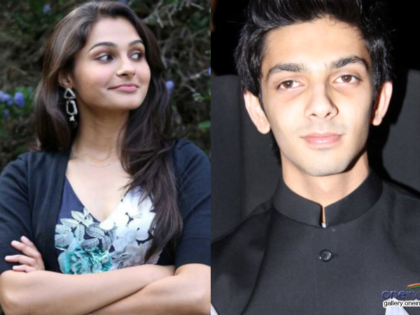 Anirudh And Andrea