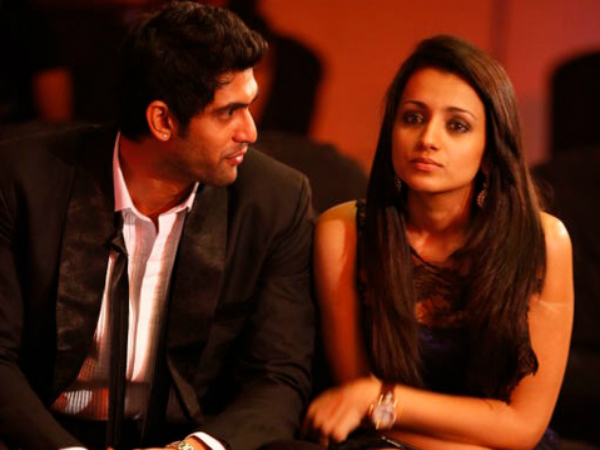 Rana Wishes Trisha On Her Birthday Filmibeat