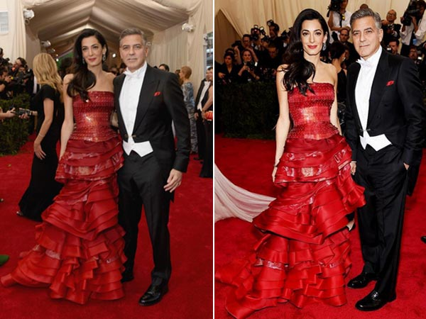 Mr. and Mrs. Clooney