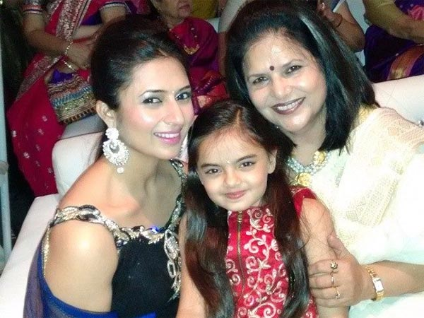 Divyanka's Mother And Daughter