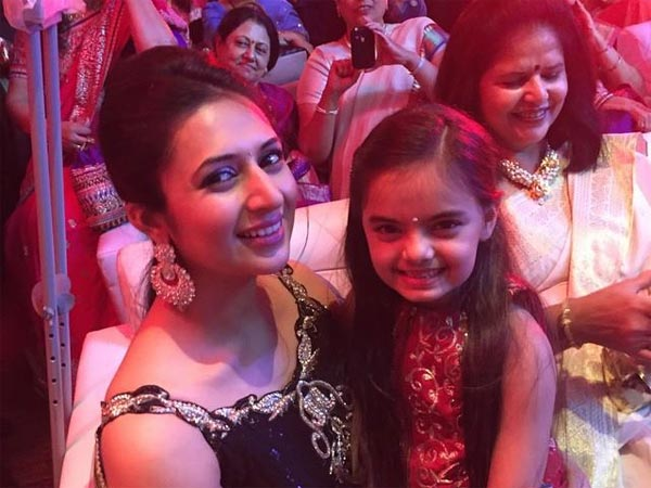 Divyanka And Her God-Daughter