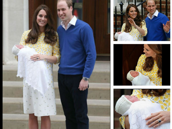 Kate Middleton & Prince William Name Their Princess Charlotte