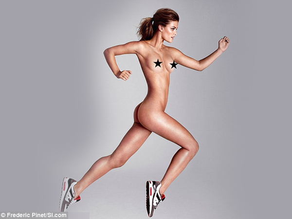 Nina Agdal Runs Naked For Sports Illustrated Swimsuit Edition