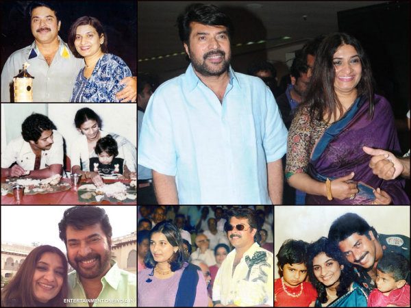 Mammootty Sulfath Wedding Anniversary Special Some Candid Pictures