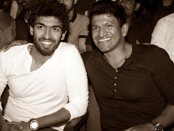 Vinay Rajkumar With His Bestie