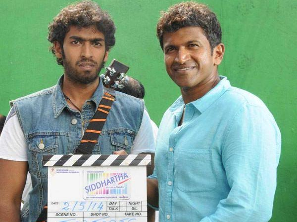 Puneeth Clapping For Vinay Rajkumar