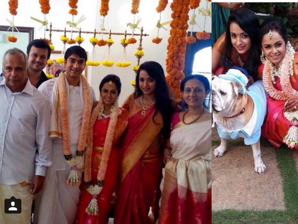 Trisha With Varun's Family